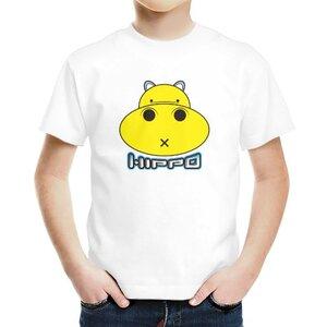 胖小河HIPPO!男童棉質圓領T恤