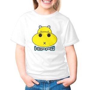 胖小河HIPPO!女童棉質圓領T恤
