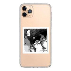 三貓驚驚  iPhone 11 Pro Max 透明殼