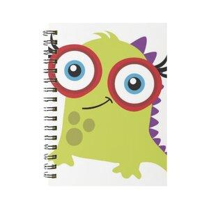 怪物 線圈筆記本(小)