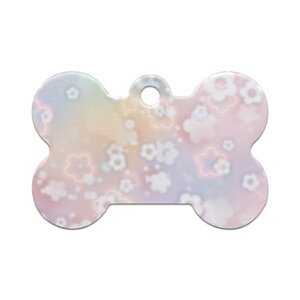 Dream Flower骨頭形寵物名牌