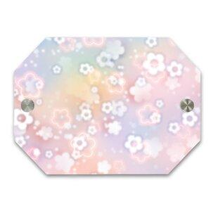 Dream Flower八角形門牌