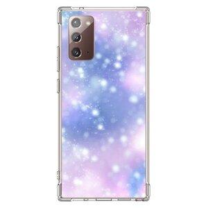 Dreamy brilliance (blue-purple)Samsung Galaxy Note 20 透明防撞殼(2020 TPU軟款)