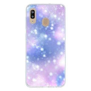 Dreamy brilliance (blue-purple)Samsung Galaxy A30 透明殼