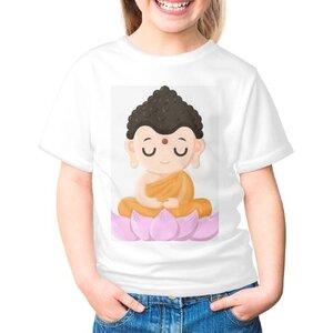 可爱 卡通女童棉质圆领T恤