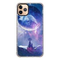 魔幻iPhone 11 Pro Max 透明防撞壳(黑边镜头)