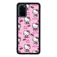 可爱 卡通 hello kittySamsung Galaxy S20+ 防撞壳