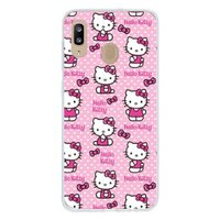 可爱 卡通 hello kittySamsung Galaxy A20 透明壳