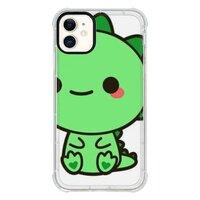 cuteiPhone 11 透明防撞壳(黑边镜头)