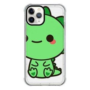 cuteiPhone 11 Pro 透明防撞壳(黑边镜头)