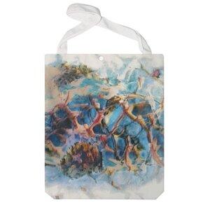 抽象艺术 特大帆布单肩袋