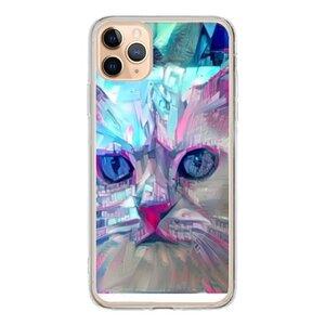 赛博朋克-猫  iPhone 11 Pro Max 透明壳