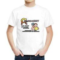 瑞克和莫蒂&魂斗罗瑞克和莫蒂&魂斗罗男童棉质圆领T恤