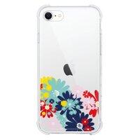 chic floral seasoniPhone SE 透明殼(2020 TPU軟款)