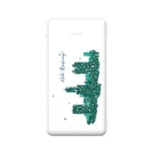 Taiwan Kaohsiung City 5000mAh 3合1 皮紋行動電源