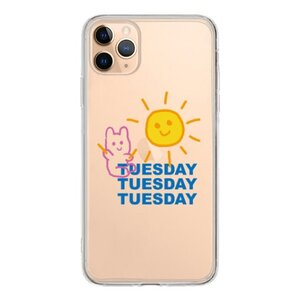 Tuesday Bear  iPhone 11 Pro Max 透明殼