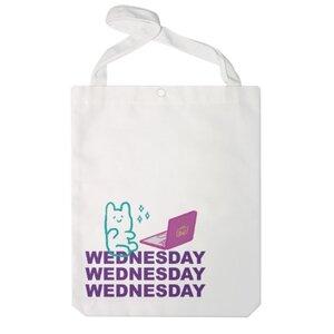 Wednesday Bear 特大帆布單肩袋