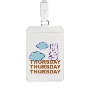 Thursday Bear 證件套連頸繩
