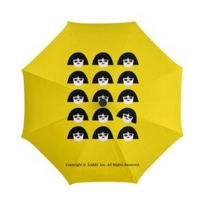 獨立思考的小女孩三摺傘