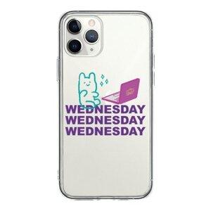 Wednesday Bear iPhone 11 Pro 透明殼