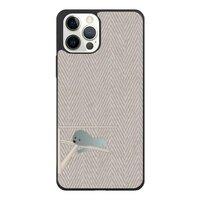 比熊犬的慵懶午後  Bichon's cozy lazy herringboneiPhone 12 mini 防撞殼