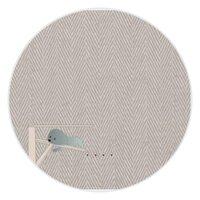 比熊犬的慵懶午後  Bichon's cozy lazy herringbone10000mAh 圓形行動電源