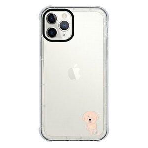 比熊犬的快樂  Happy Bichon ChiciPhone 11 Pro 透明防撞殼(黑邊鏡頭)