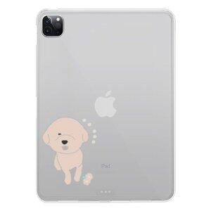 比熊犬的快樂  Happy Bichon ChiciPad Pro 11吋(2020)透明保護套