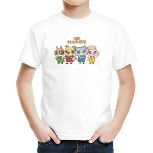 料理救援隊來--ah!男童棉質圓領T恤