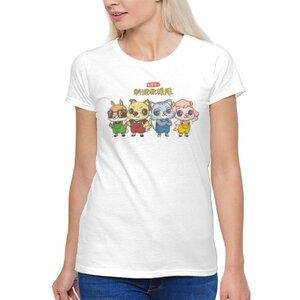 料理救援隊來--ah!女裝棉質圓領T恤