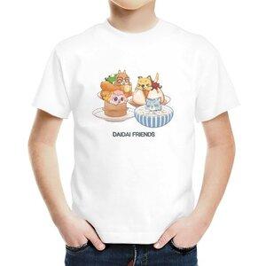 台灣好料理 男童棉質圓領T恤