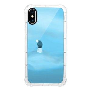 暴風中心的少女iPhone X 透明防撞殼(黑邊鏡頭)
