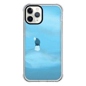 暴風中心的少女iPhone 11 Pro 透明防撞殼(黑邊鏡頭)