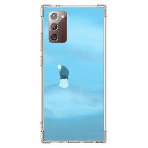 暴風中心的少女Samsung Galaxy Note 20 透明防撞殼(2020 TPU軟款)