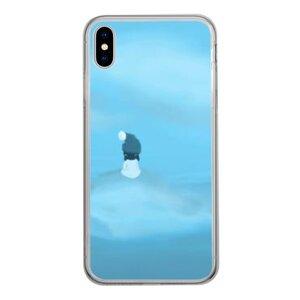 暴風中心的少女 iPhone Xs Max 透明殼