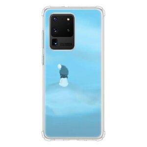 暴風中心的少女Samsung Galaxy S20 Ultra 透明防撞殼(邊角氣囊)