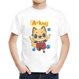 阿光 A-kng男童棉質圓領T恤