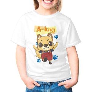 阿光 A-kng女童棉質圓領T恤