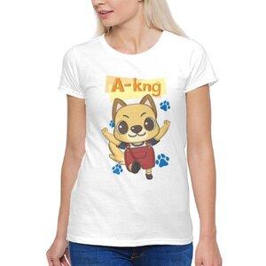 阿光 A-kng女裝棉質圓領T恤