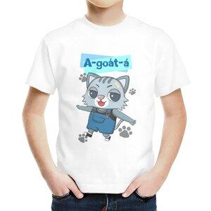 阿月仔 A-goa̍t-á男童棉質圓領T恤