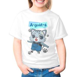 阿月仔 A-goa̍t-á女童棉質圓領T恤