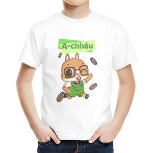 阿草 A-chháu男童棉質圓領T恤