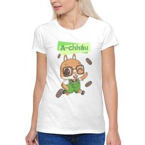 阿草 A-chháu女裝棉質圓領T恤