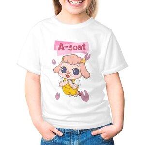 阿雪 A-soat女童棉質圓領T恤