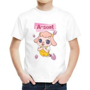 阿雪 A-soat男童棉質圓領T恤