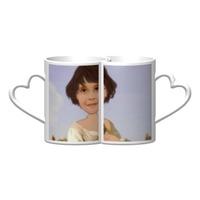 個人肖像訂製產品 陶瓷情侶組合杯,12oz