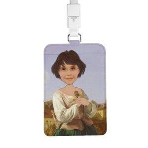 個人肖像訂製產品 證件套連頸繩
