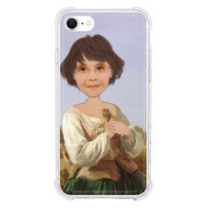 個人肖像訂製產品  iPhone SE 透明殼(2020 TPU 軟款)
