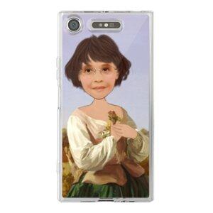 個人肖像訂製產品 Sony XZ1 透明殼