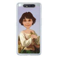 個人肖像訂製產品  Samsung Galaxy A80 透明殼